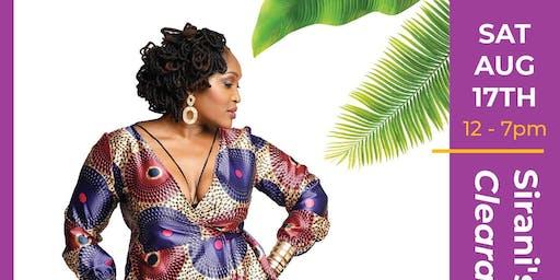 Sirani's Fashion clearance pop-up