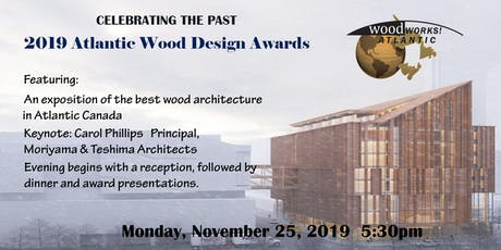 Atlantic Wood Works Wood Design Awards tickets