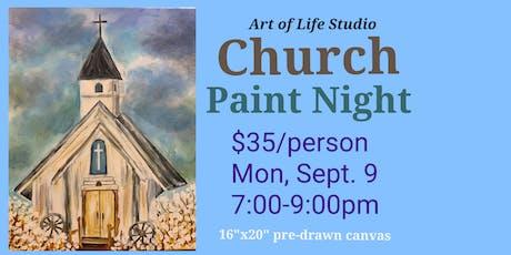 Paint Night: Church tickets