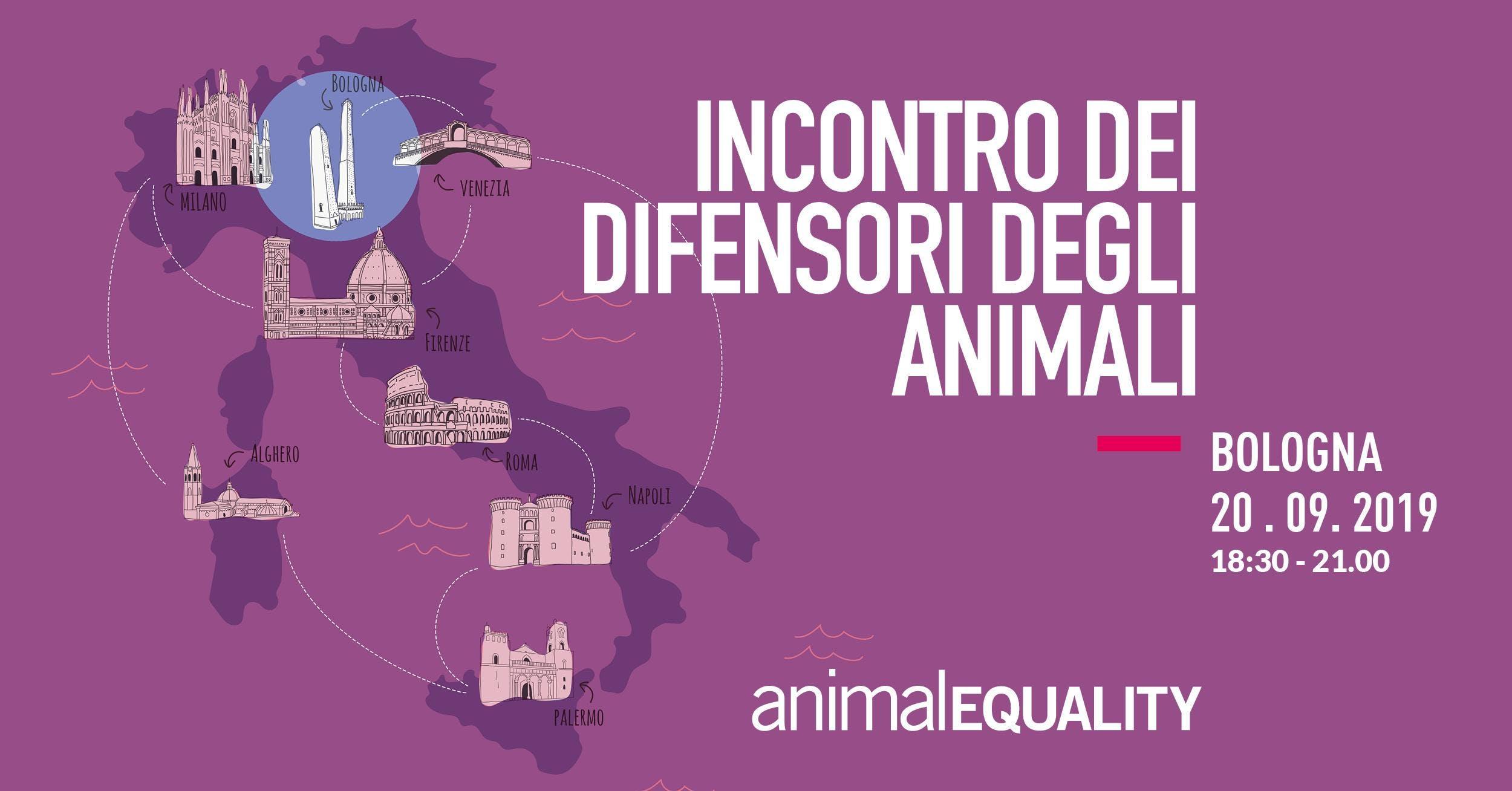 Incontro con Animal Equality Italia - Bologna