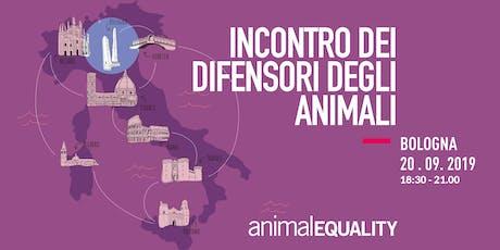 Incontro con Animal Equality Italia - Bologna biglietti