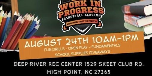 Work In Progress Basketball: Back To School Skills Clinic