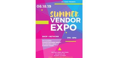 SUMMER VENDOR EXPO  tickets