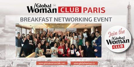 GLOBAL WOMAN CLUB PARIS: BUSINESS NETWORKING BREAKFAST - NOVEMBER billets