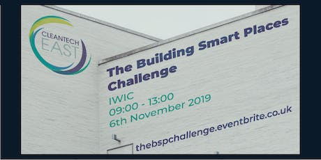 The Building Smart Places Challenge tickets