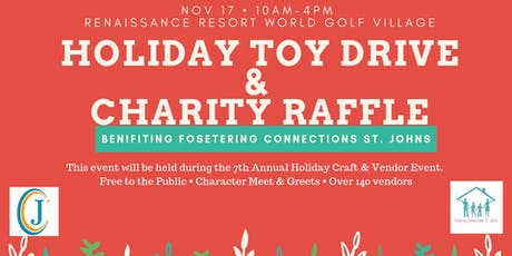 Charity Raffle & Toy Drive - Fostering Connections St Johns tickets