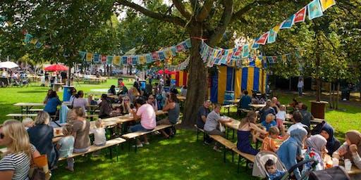 Parkenmaand workshop/wandeling 'hoe is een park creatief te beheren?'