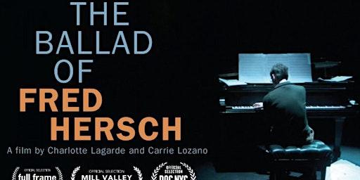 The Ballad of Fred Hersch [FILM SCREENING]