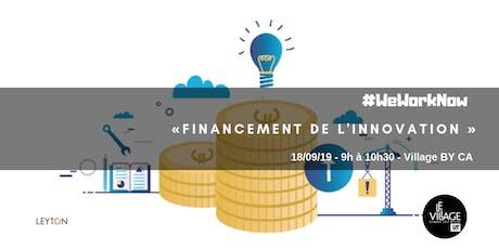 Financement de l'innovation  billets