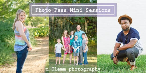 Photo Pass Mini Sessions