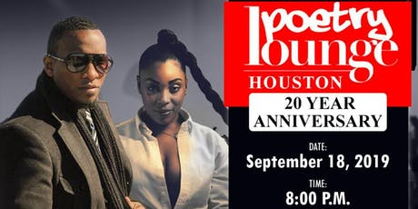 WEGO LIVE: Poetry Lounge Houston 20 Year Anniversary tickets