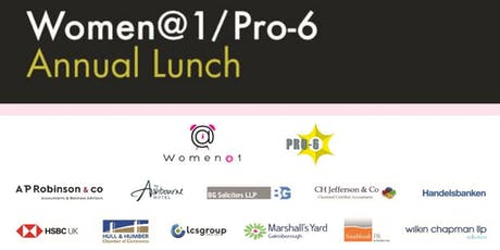 Women@1 /Pro 6 - Annual Lunch tickets