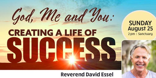 God, Me & You: Creating a Life of Success