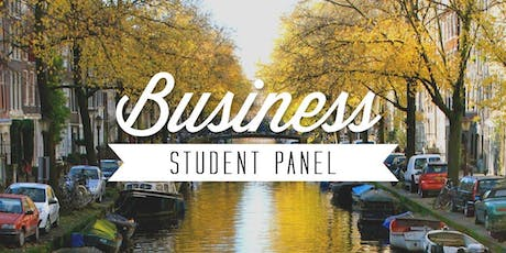 Study Abroad Panel: Business Majors tickets