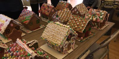 9th Annual Gingerbread Decorating Party@SJWC