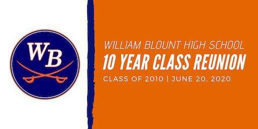 William Blount High School Class of 2010's 10-Year Reunion