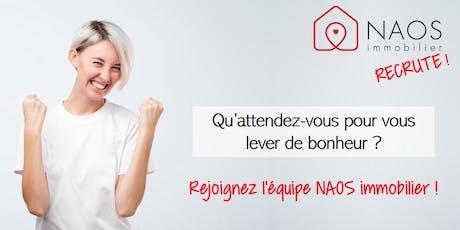 Réunion d'info en ligne NAOS immobilier billets