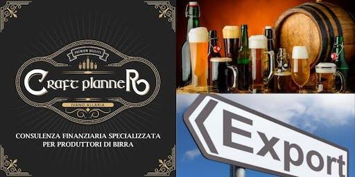 Craft Planner Export - Porta la tua birra all'estero