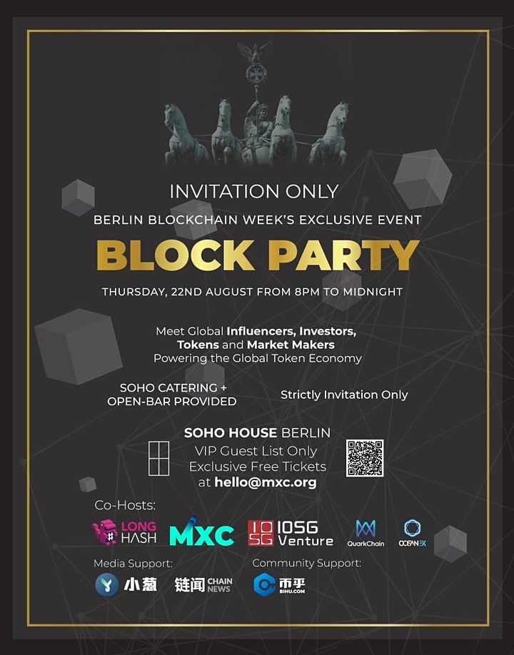 Block Party - Berlin Blockchain Week image