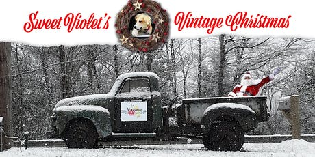 Sweet Violet's Vintage Christmas tickets
