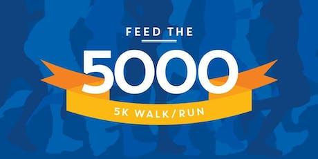 2019 iCare Feed the 5000 5k Run/Walk - Jacksonville tickets