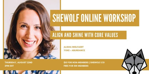 Align and Shine with Core Values
