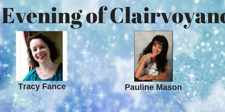 18-10-19 Victorias Cabaret, Lenham - Evening of Clairvoyance with Pauline Mason & Tracy Fance tickets