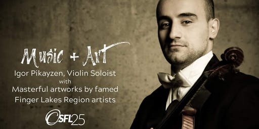 Music + Art: Brahms & the Finger Lakes