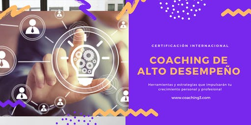 Certificación Internacional Coaching de Alto Desempeño
