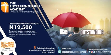 ENTREPRENEURSHIP TRAINING PROGRAM tickets