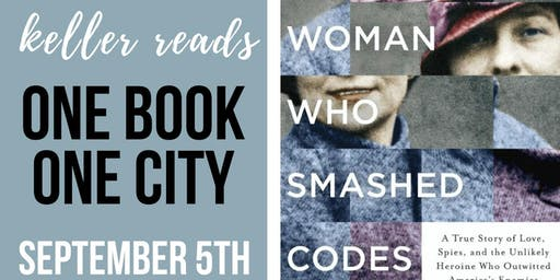 """Jason Fagone - Free Book Discussion """"The Woman Who Smashed Codes"""""""