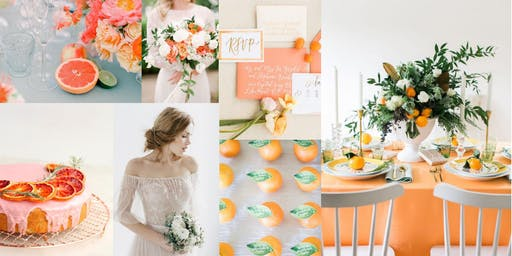 Styled Bridal Shoot: Bright & Citrus