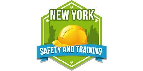 Bronx Clase de OSHA Banderillero - $99 - (718) 734-8400 tickets