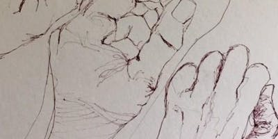 "Creative Arts Workshop - ""Explore Drawing Hands"" with Meyriel Edge"
