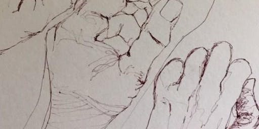 """Creative Arts Workshop - """"Explore Drawing Hands"""" with Meyriel Edge"""