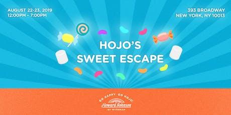 HoJo's Sweet Escape Pop-Up tickets
