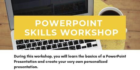 PowerPoint Skills Workshop tickets