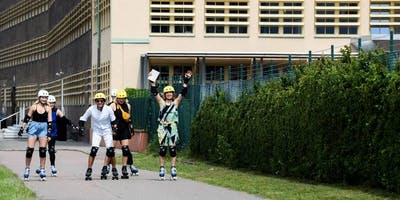 Roller skating guide tour