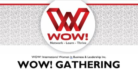 WOW! Women in Business & Leadership - Luncheon - Airdrie November 13 tickets