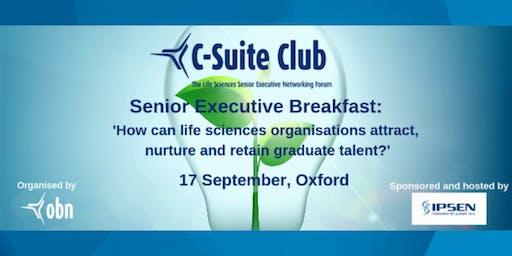 Senior Executive Breakfast: How can life sciences organisations attract, nurture & retain graduate talent?
