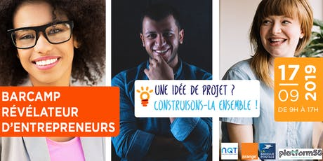 Barcamp Révélateur d'entrepreneurs billets