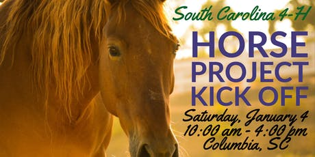 South Carolina 4-H Horse Project Kick Off tickets