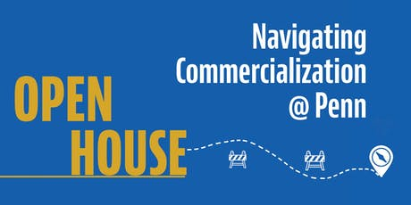 Navigating Commercialization @ Penn: Open House tickets