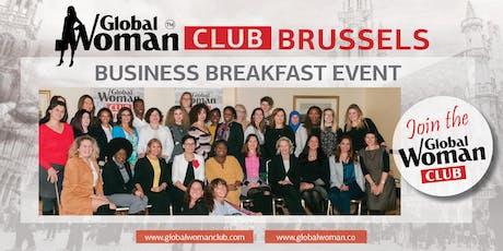 GLOBAL WOMAN CLUB BRUSSELS: BUSINESS NETWORKING BREAKFAST - DECEMBER tickets