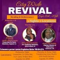 CTC CITY WIDE REVIVAL (HEALING & DELIVERANCE) APOSTLE HOPKINS