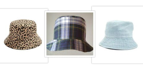 Fashion a Funky Bucket Hat -  Post Beginners Sew  tickets