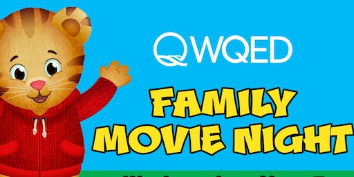 Back to School WQED Family Movie Night featuring Daniel Tiger's Neighborhood
