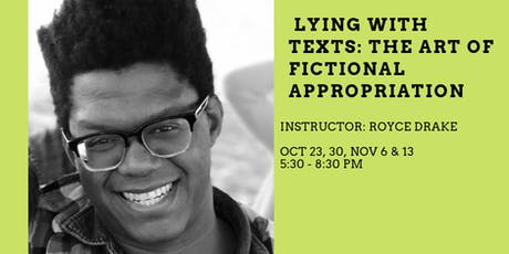 Cooper Street: Lying with Texts (The Art of Fictional Appropriations) tickets