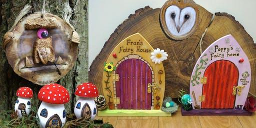 Kid's Creation in Wood