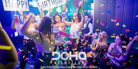Latin Saturday's @ dohanigntclub  tickets
